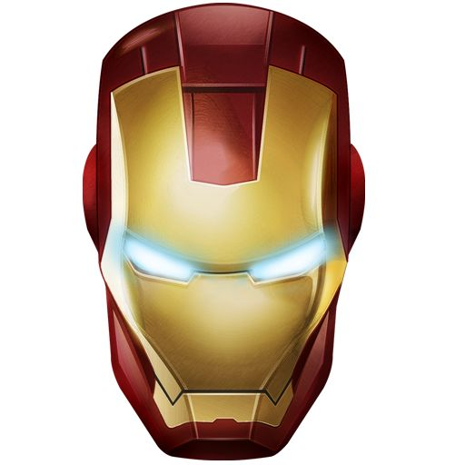 Iron Man Clip Art Vector.
