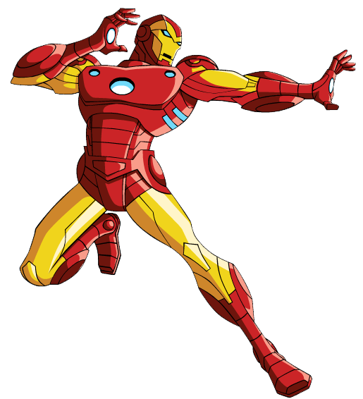 Iron Man Clipart.