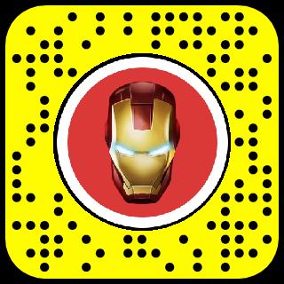 Iron Man HUD Snapchat Lens & Filter.