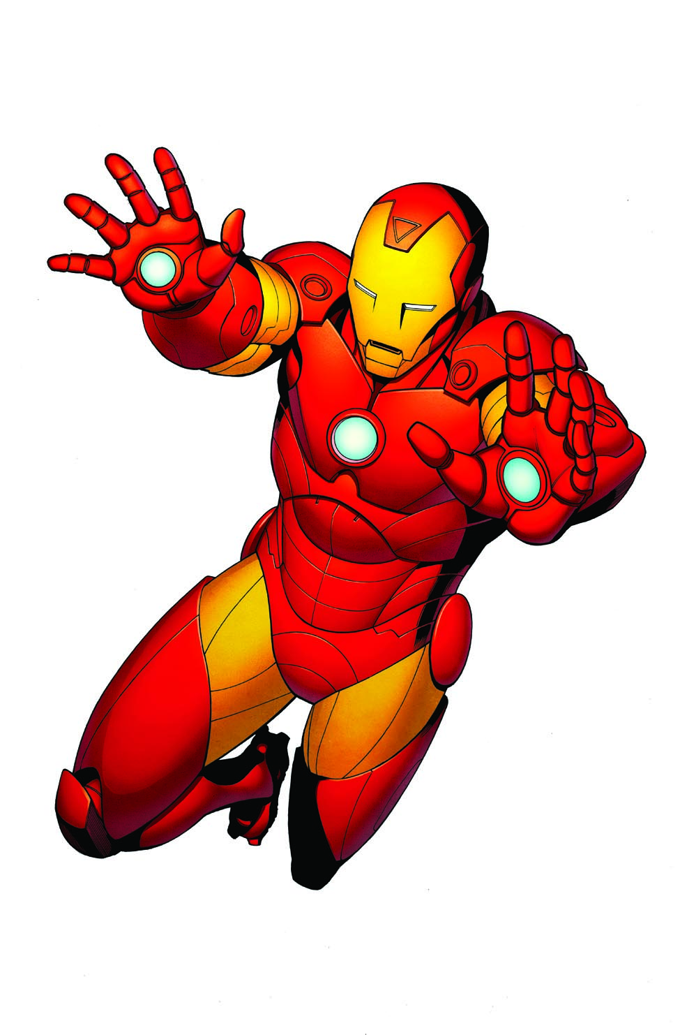 Showing post & media for Iron man gloves cartoon.