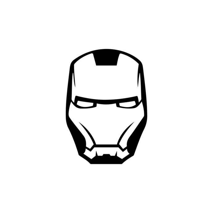 Iron Man Marvel Avengers Superhero Helmet graphics design SVG DXF PNG  Vector Art Clipart instant download Digital Cut Print Files Cricut.