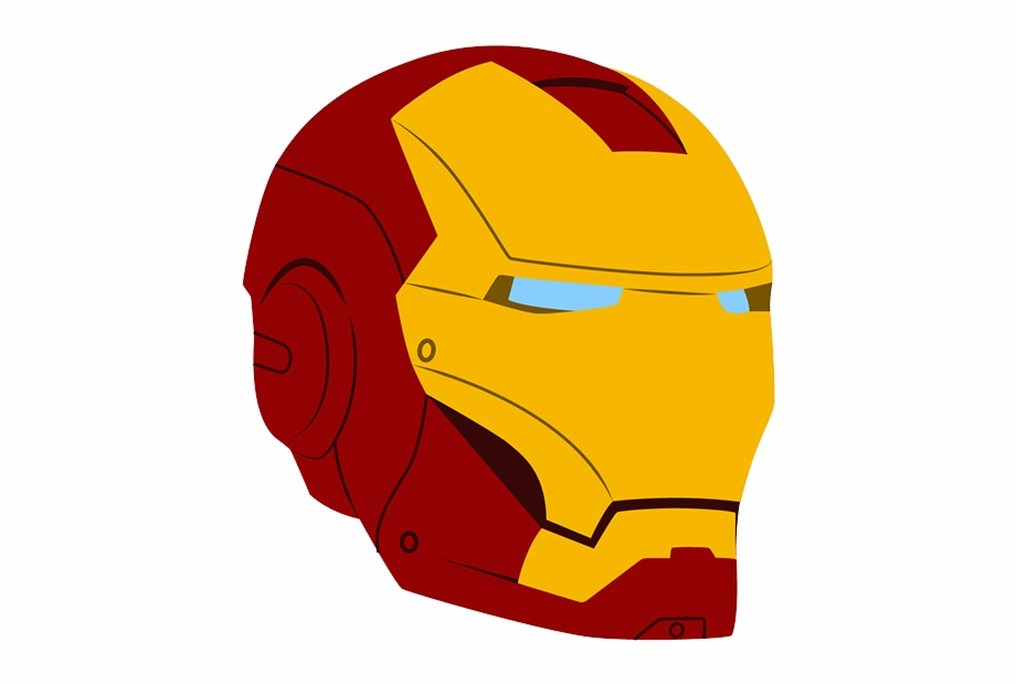 Iron Man Helmet Vector Free PNG Images & Clipart Download #413900.