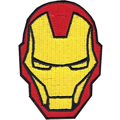Amazon.com: Marvel Comics Iron Man Helmet Patch The Avengers.