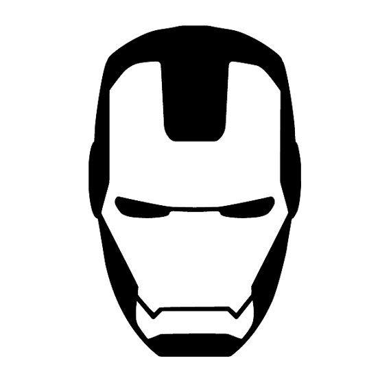 Iron Man Helmet Drawing.