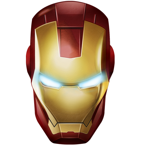 Iron Man Icon, PNG ClipArt Image.
