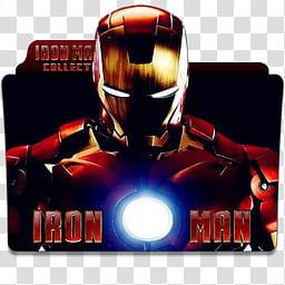 Iron Man Movie Collection Folder Icon , Iron Man.