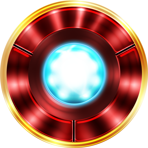 Ironman Arc Reactor\ PNG Image.