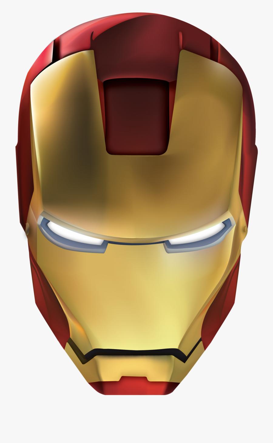 Iron Man Helmet Png , Free Transparent Clipart.