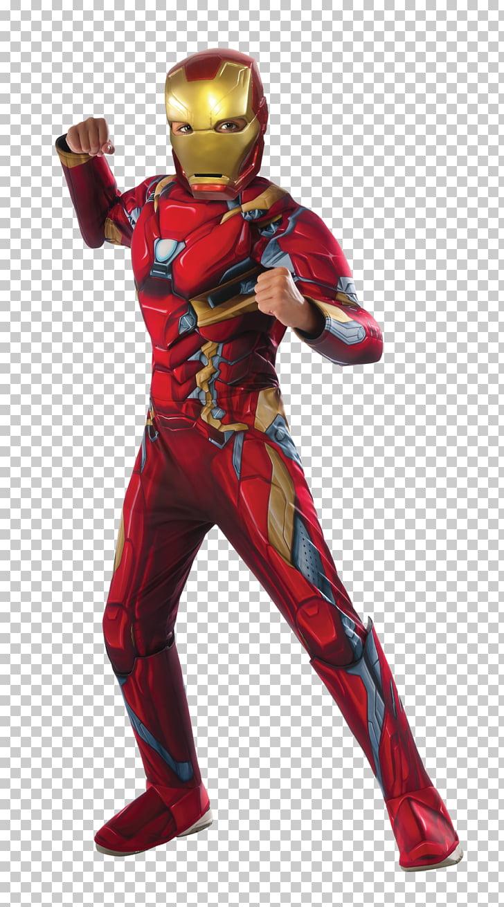Iron Man Halloween costume Superhero Marvel Comics, ironman.