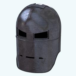 Old Iron Man Mask Icon.