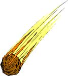 Meteorite Clipart Meteor%.