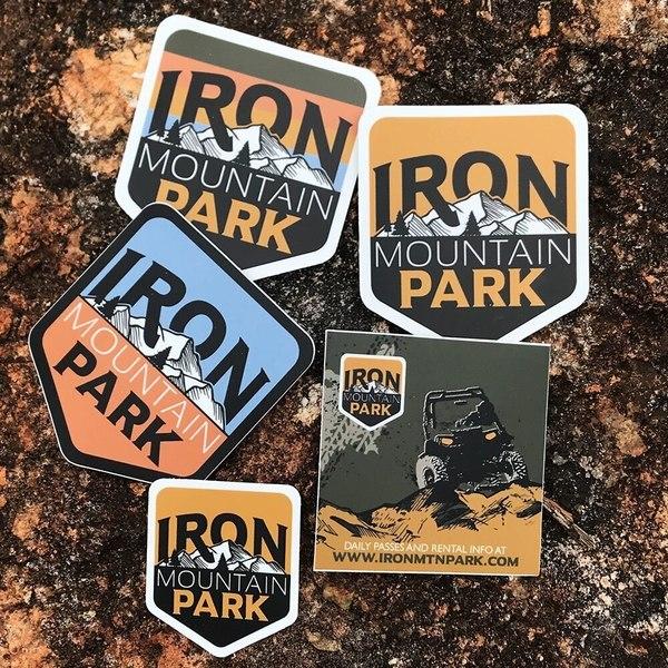 Iron Mountain Park ATV Sticker.