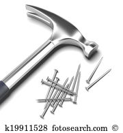 Iron nail Illustrations and Clip Art. 752 iron nail royalty free.