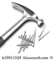 Iron nail Illustrations and Clip Art. 752 iron nail royalty free.