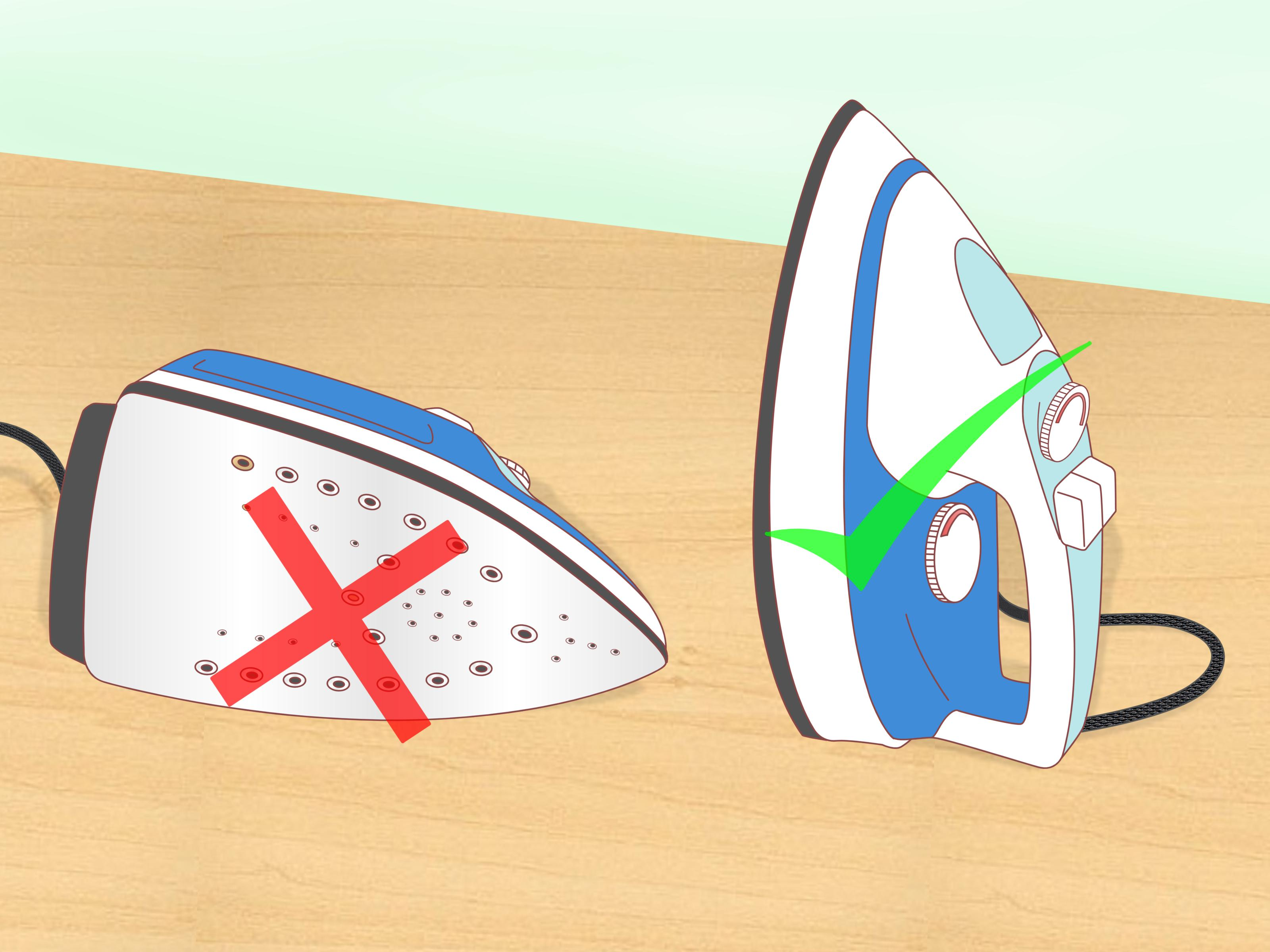 How to Clean the Steam Iron and Its Base Plate: 15 Steps.
