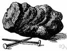 Iron ore.