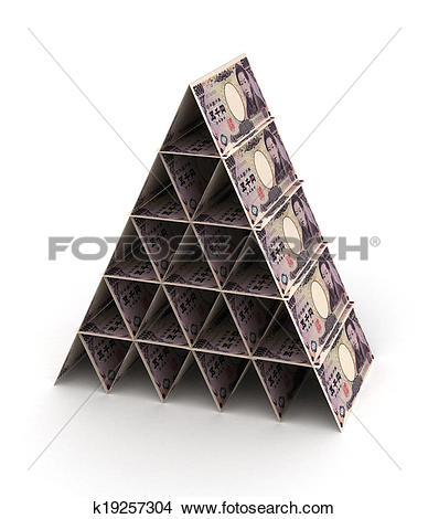 Drawings of Japanese Yen Pyramid k19257304.
