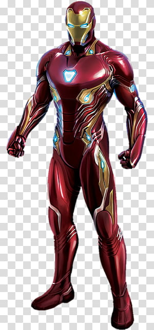 Spiderman Iron Spider Avengers Infinity War transparent.