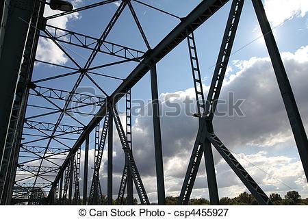 Picture of Truss bridge.