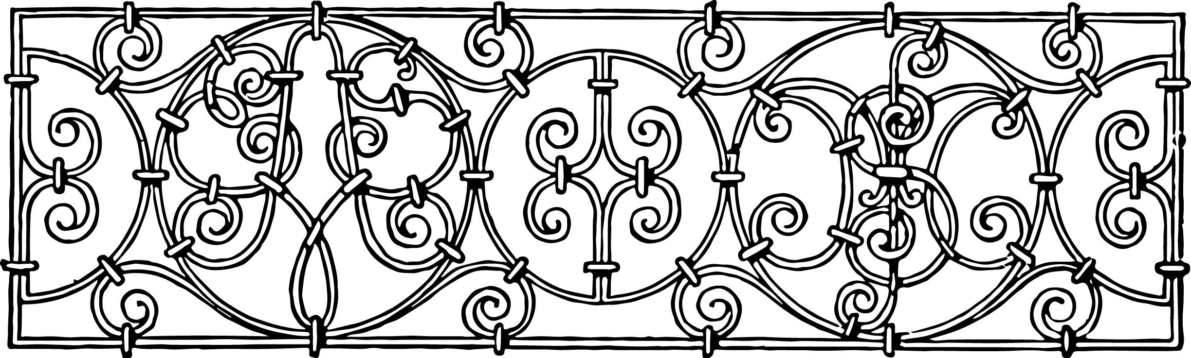 Free iron work clipart.
