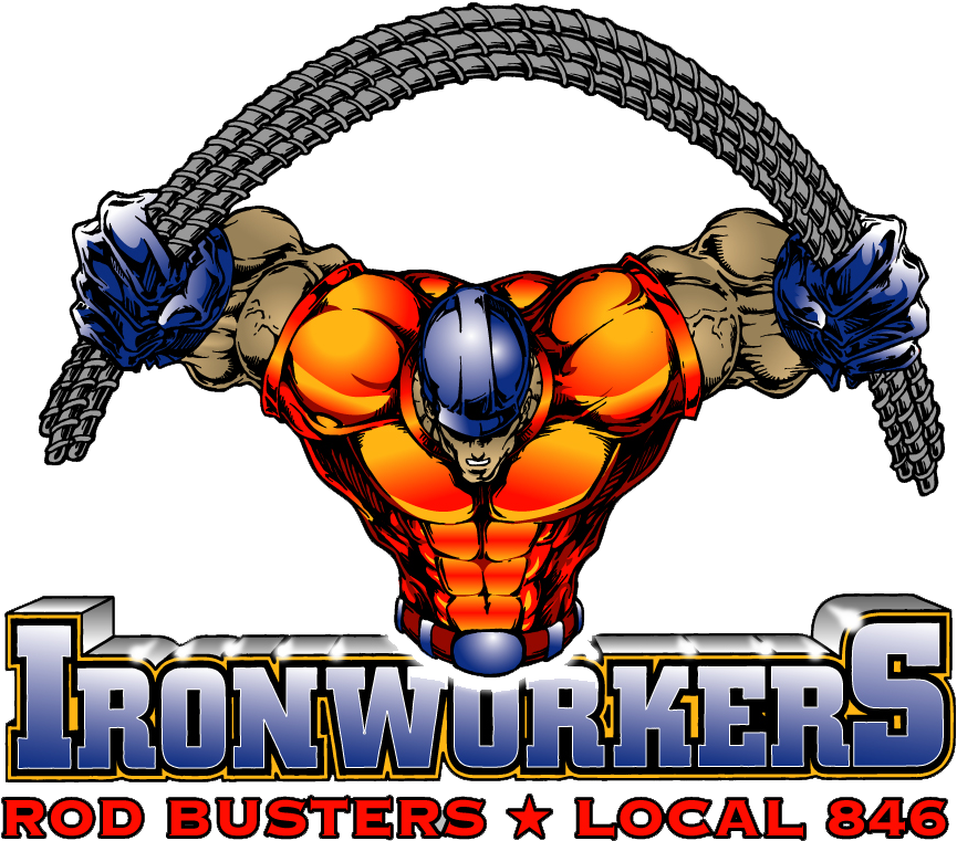 Ironworkers Local 846 Clipart Ironworker Iron Workers.