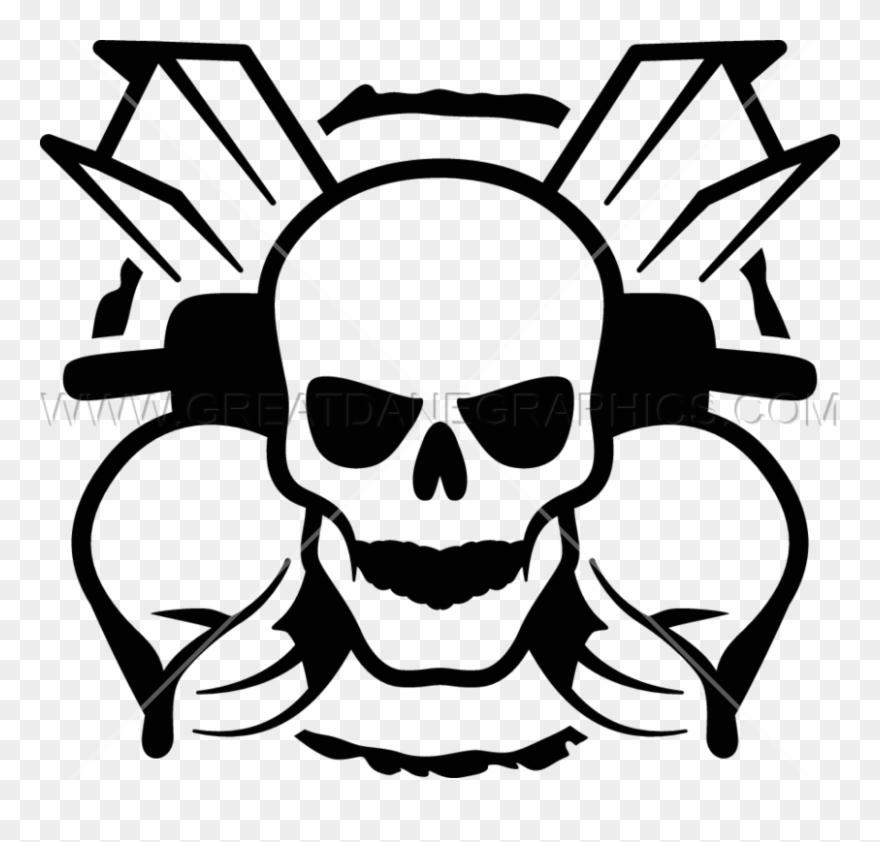 Iron Worker Skull Clipart (#2819444).