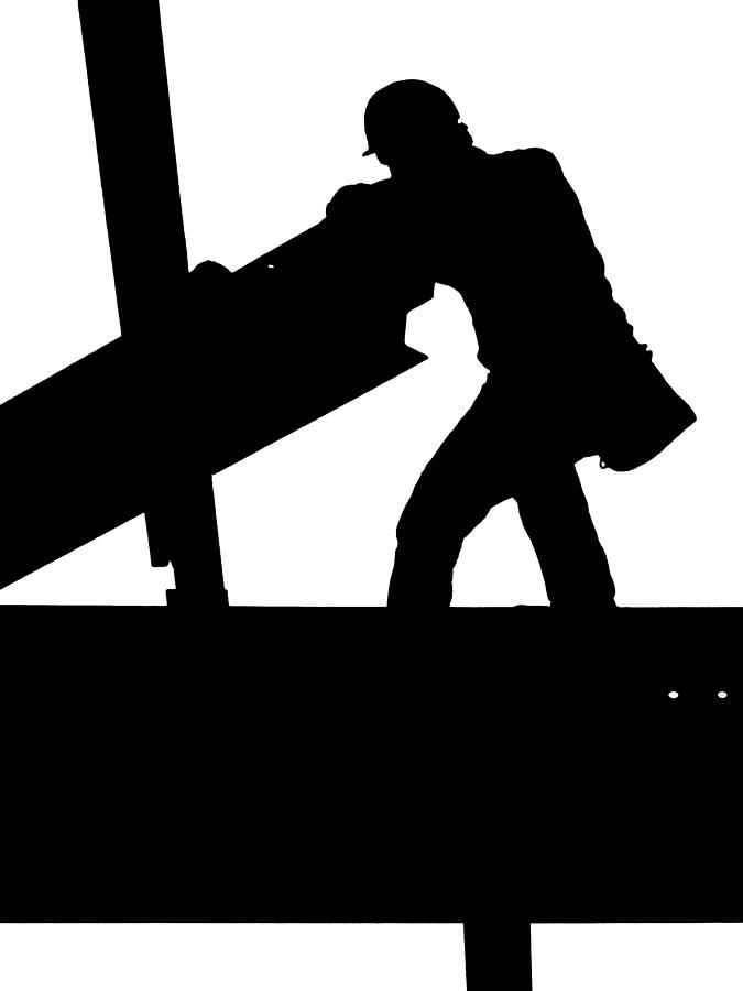 Clipart iron worker.