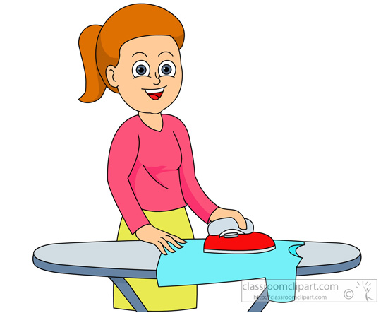 Gallery For > Ironed Clothes Clipart.
