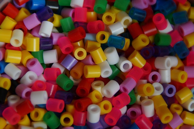 Free photo: Ironing Beads, Colorful, Beads.