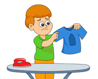 Ironing Clipart.