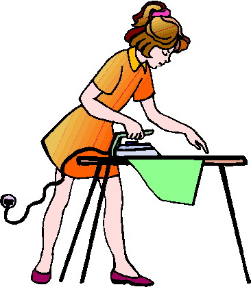 Ironing clipart 1 » Clipart Station.