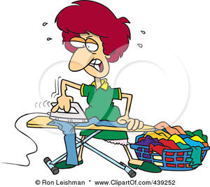 ironing service clipart #13