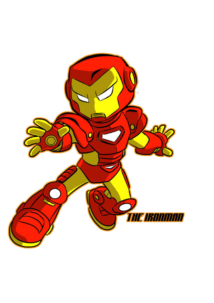 Showing post & media for Baby iron man cartoon.