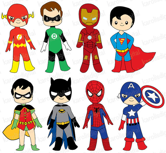 Ironman Clipart Cute.