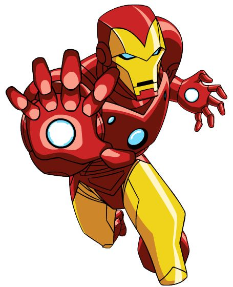 Iron Man Cartoon Avengers.