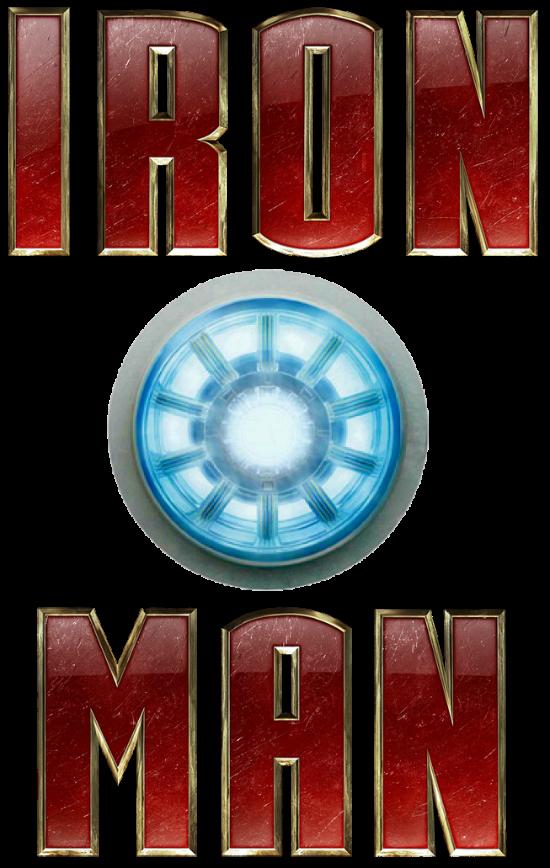 Ironman logo PNG.