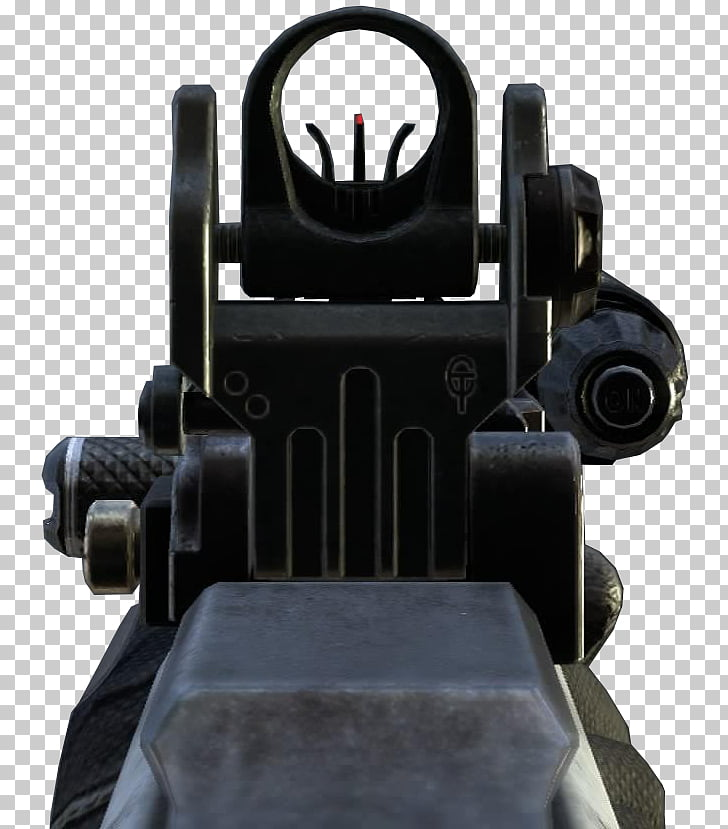 Telescopic sight Iron sights, iron sight PNG clipart.