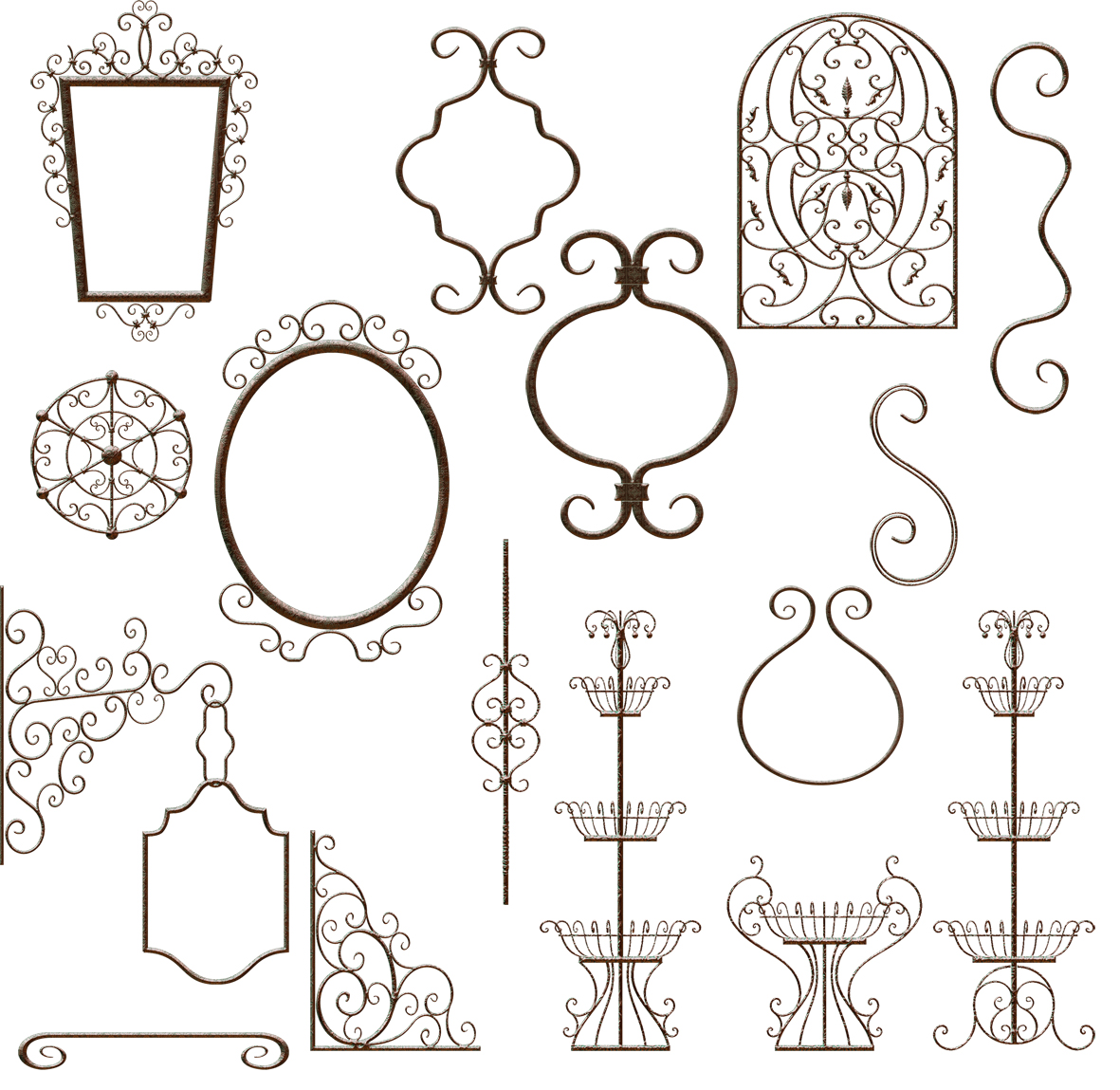 free wrought iron clipart.