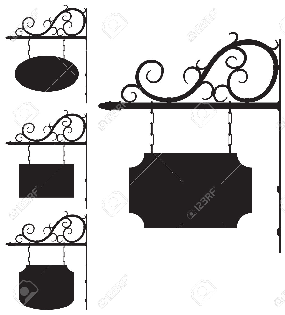 4,564 Ironwork Cliparts, Stock Vector And Royalty Free Ironwork.