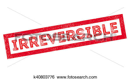 Stock Illustration of Irreversible rubber stamp k40803776.