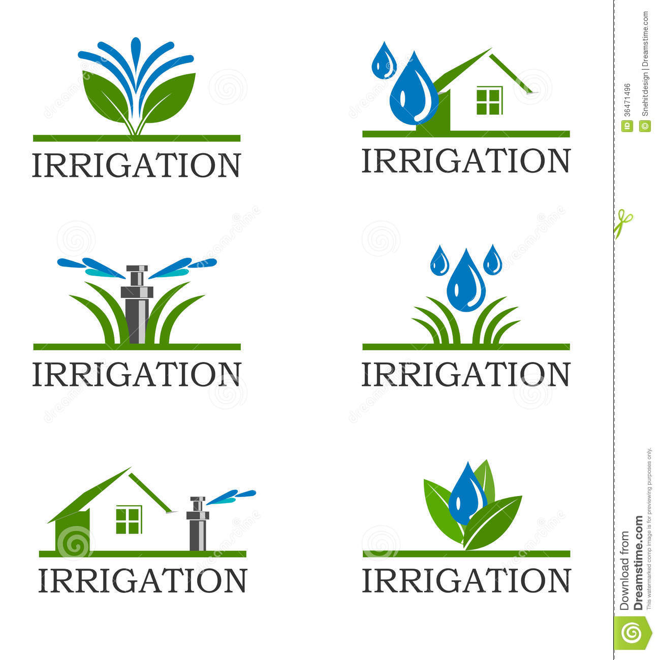 Similiar Lawn Sprinkler System Clip Art Keywords.