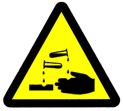 Hazard Signs Irritant.
