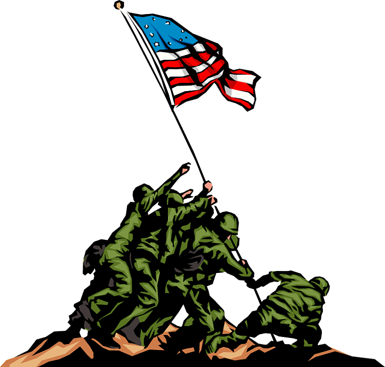 Free veterans day clip art in vector format 3 2.