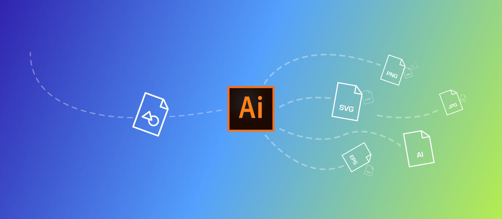 How to export vector icons to multiple sizes and formats in Adobe.