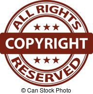 Copyright stamp Illustrations, Graphics & Clipart.