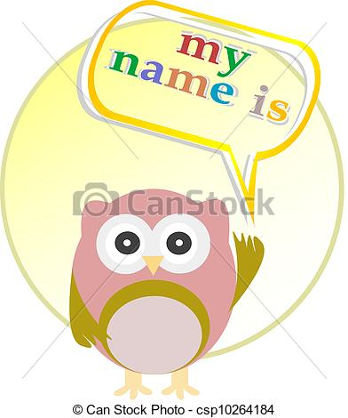 My Name Is Clipart.