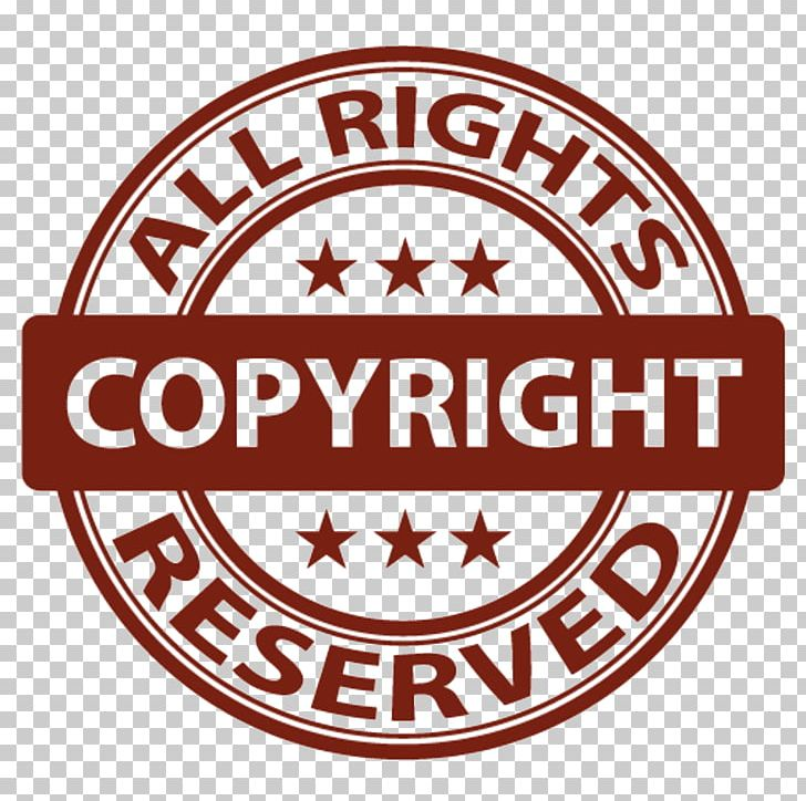 Copyright Symbol All Rights Reserved Intellectual Property PNG.