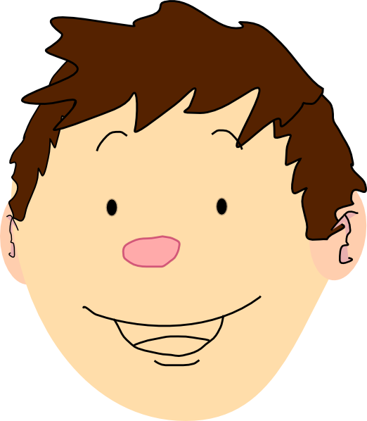 Boy Face Clip Art at Clker.com.