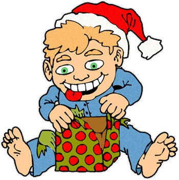 Open Presents Clipart#2139749.