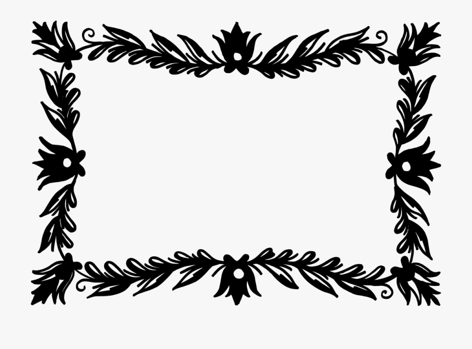 Vector Rectangle Wreath.